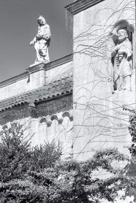Statues, Vajdahunyad Castle