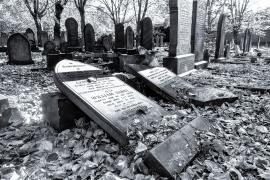 Headstones, Key Hill Cemetery