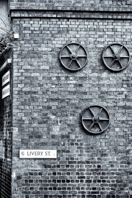 Pattress Plates, Livery Street