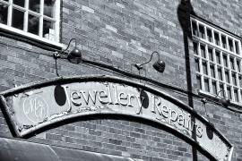 Shop Sign, Hockley Street